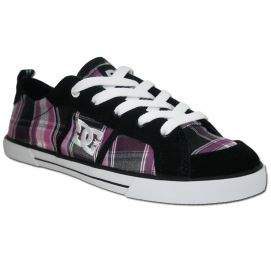 Basket  DC Shoes Femme FIONA Black/purple