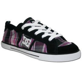 dc shoes ladies basket dc shoes fiona black purple sur backside. Black Bedroom Furniture Sets. Home Design Ideas
