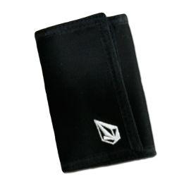 extrêmement unique Excellente qualité france pas cher vente Portefeuille VOLCOM FULL STONE Black on Black sur Backside ...