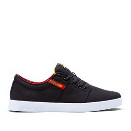 Basket SUPRA STACKS II Black red