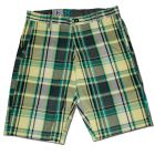 Short VOLCOM PLAINO PLAID Yellow