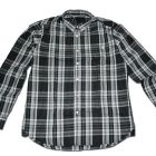 Chemise VOLCOM X FACTOR PLAID LS BLACK COMBO