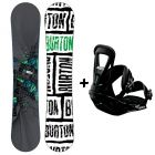 Pack de snow Burton BULLET 54W et FREESTYLE