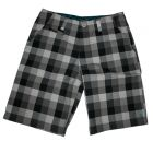 Short DC shoes  CRUISE CHINO Black plaid